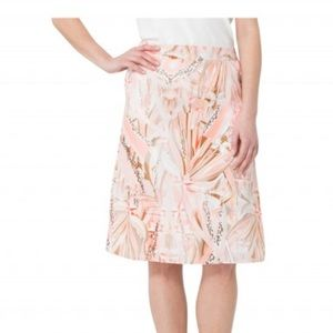 Basler Marrakesh Silk Pink Skirt